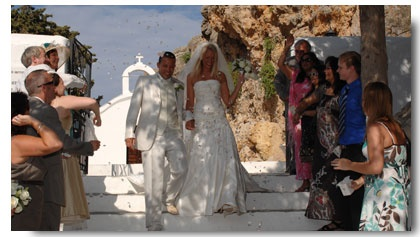 VISIT GREECE  The most important day of your life deserves one of the most beautiful settings! Excellent weather,  amazing beaches, luxurious resorts, picturesque towns and villages, - all excellent reasons to get married in Greece!