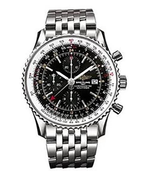 Breitling Navitimer Replica Stainless Steel GMT Mens Wristwatch - Replica Homage Watches for Sale