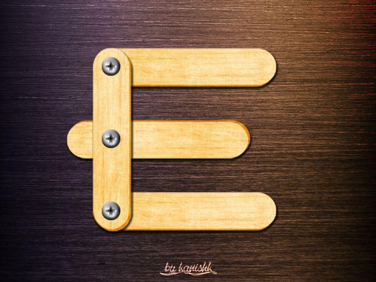 Lettering - E