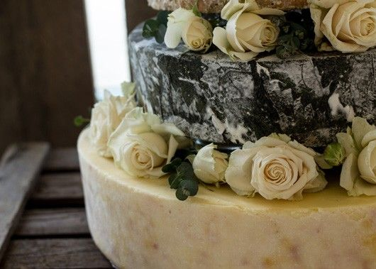 Beatrice Cheese Wedding Cake by The Fine Cheese Co.