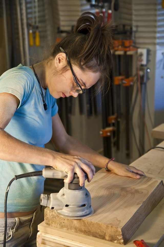 The Best Tools For Sanding Kitchen Cabinets Hunker Woodworking Learn Woodworking Woodworking Cabinets
