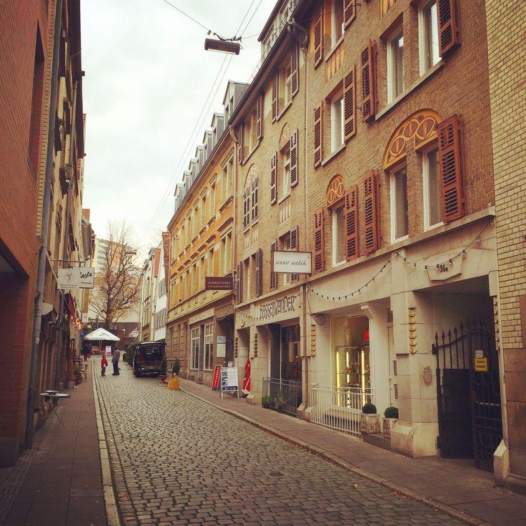 Beautiful Bohnenviertel in Stuttgart.