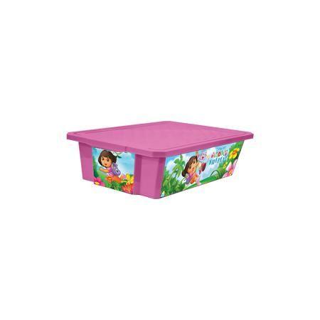 """Little Angel Ящик для хранения игрушек """"X-BOX"""" """"Даша путешественница"""" 30л на колесах, Little Angel, розовый  — 920р.  Ящик для хранения игрушек """"X-BOX"""" """"Даша путешественница"""" 30 л на колесах, Little Angel, розовый изготовлен отечественным производителем . Выполненный из высококачественного пластика, устойчивого к внешним повреждениям и изменению цвета, ящик станет не только необходимым предметом для хранения детских игрушек и принадлежностей, но и украсит детскую комнату своим ярким…"""