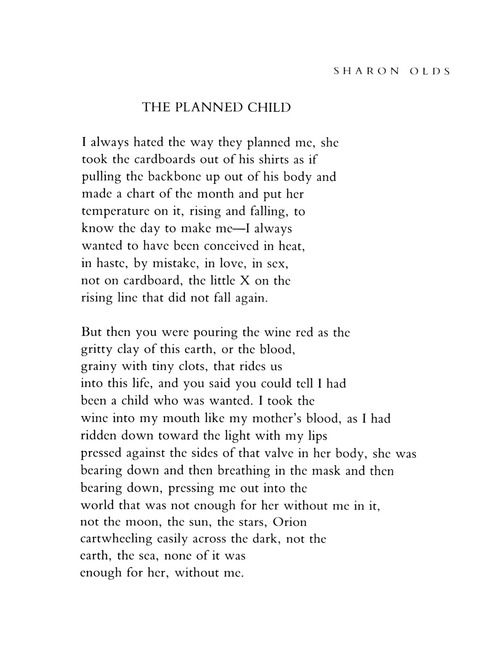 last night by sharon olds View notes - sharon olds poem last night from engl 102 at university of tennessee olds, sharon last night the poem last night by sharon olds is a short poem about a fear of sex without.