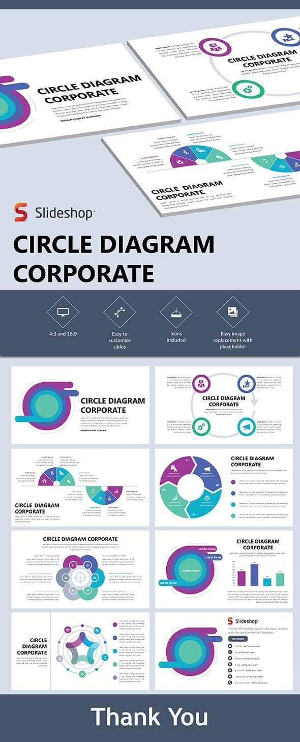 Circle Diagram Corporate