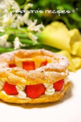 HMで簡単パリブレスト♡記念日や母の日に by ❤ももら❤ 【クックパッド】 簡単おいしいみんなのレシピが282万品