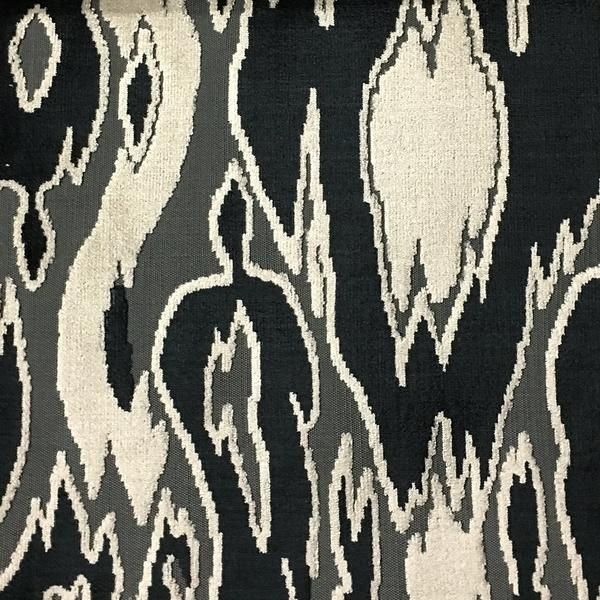 Harrow - Abstract Cut Velvet Upholstery Fabric by the Yard - Available in 16 Colors