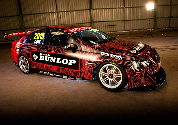 Cars of the Future or COTF the evolution of motoring sport in Australia for V8 Supercar racing.