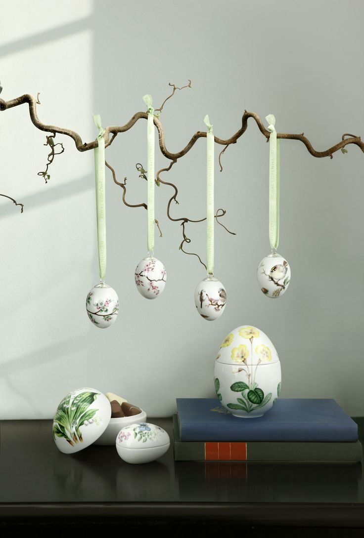 Easter decorations from Royal Copenhagen