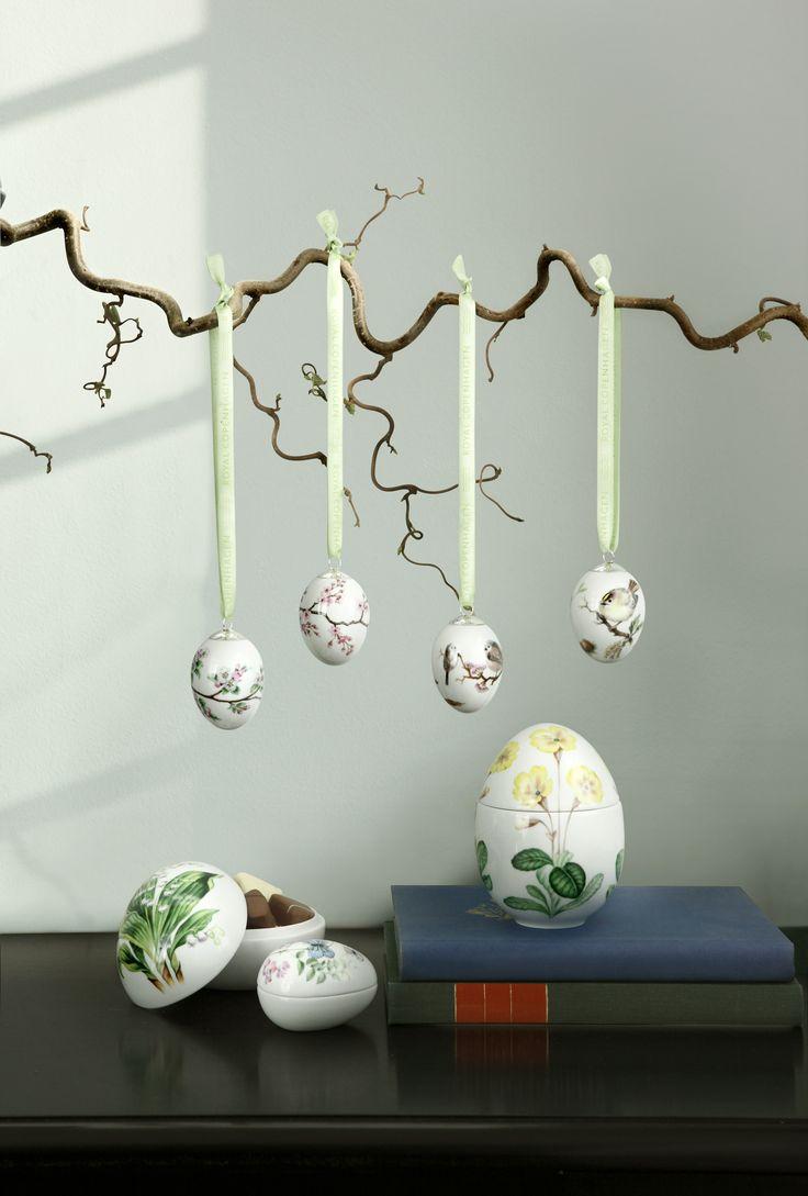 Easter decorations from Royal Copenhagen  #danish #easter #royalcopenhagen