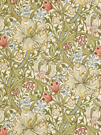 William Morris wallpaper  GoldenLilyl