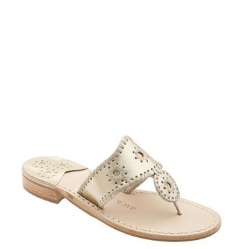 Jack Rogers sandals...most comfortable sandals and they'll last a couple years...want these!!!