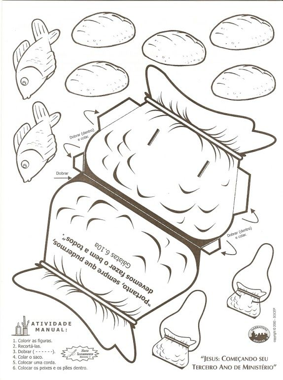 46 best images about bible jesus feeds 5000 on pinterest for Feeding the five thousand coloring pages