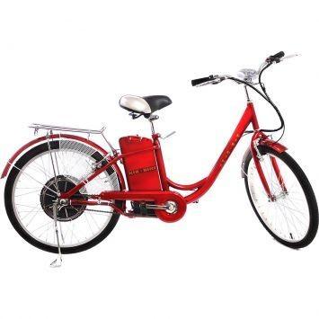Bicicleta Elétrica Kinetron EB-018 350W Aro 24 36V Vermelho escuro – Kinetron - http://batecabeca.com.br/bicicleta-eletrica-kinetron-eb-018-350w-aro-24-36v-vermelho-escuro-kinetron.html