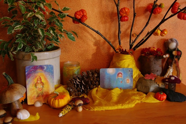 Beautiful story from Wynstones Autumn book perfect for when you are making your lanterns http://passengersonalittlespaceship.blogspot.com/2011/10/autumn-nature-table.html