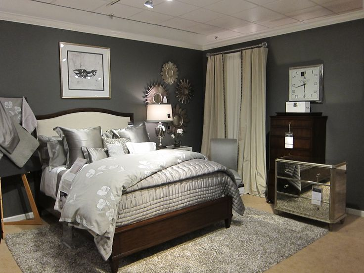 Benjamin moore iron mountain paint in our ethan allen design center design the best paint The master bedroom whitby