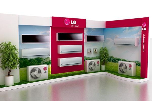 Ambientación Tiendas LG on Behance