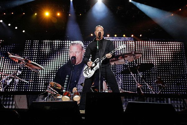 Concierto de Metallica en Chile se lanzará en vinilo ‹ El germen pop | música rock pop y cine