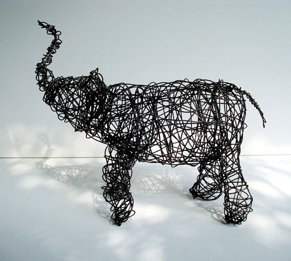 whao! wire animal art