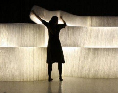 Illuminazione design: i moduli di molo si trasformano in pareti ...