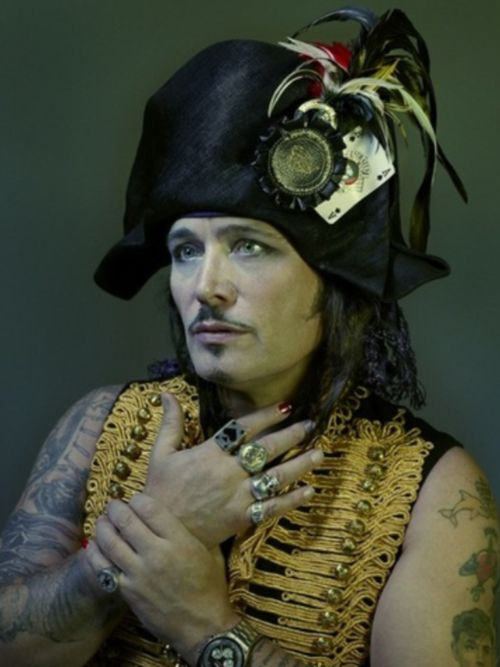 Adam Ant - i preferred him with a lot less tats....just my preference.
