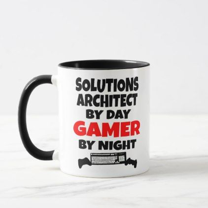 Solutions Architect Game Mug - architect gifts architects business diy unique create your own