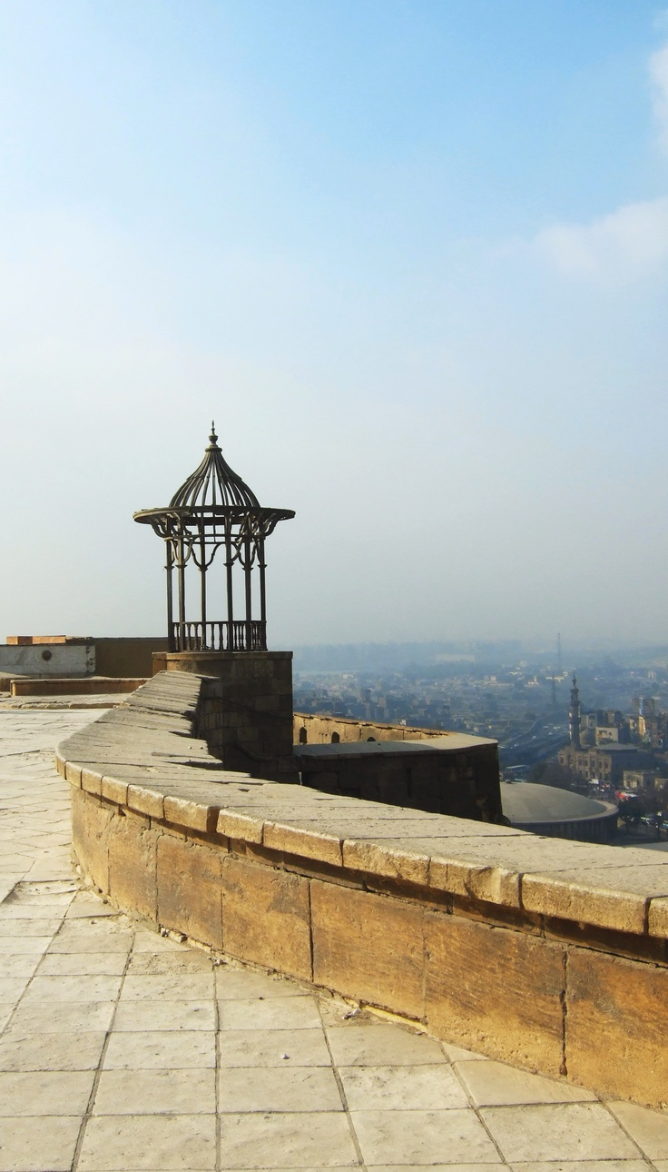 View over Cairo, Egypt. #cairo #egypt