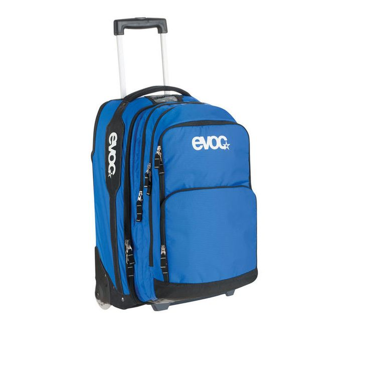2012 Evoc Terminal Bag - Blue - - by Evoc - 2012 Evoc Terminal Bag - Blue Versatile Travel Trolley As Additional Luggage Item