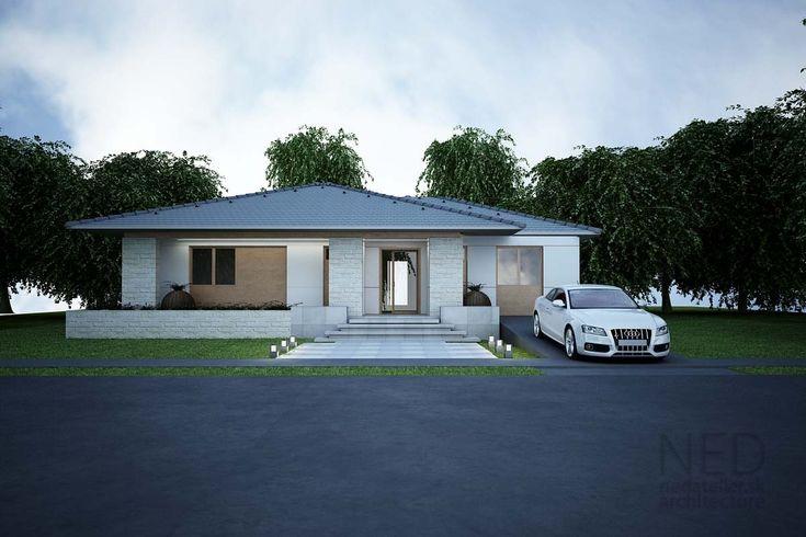 Štartovací dom pre mladú rodinu alebo starší pár je projekt domu ZEL ako ušitý. Žiadne zbytočné chodby, dobre orientovaný, svetlý moderný dom a moderná architektúra