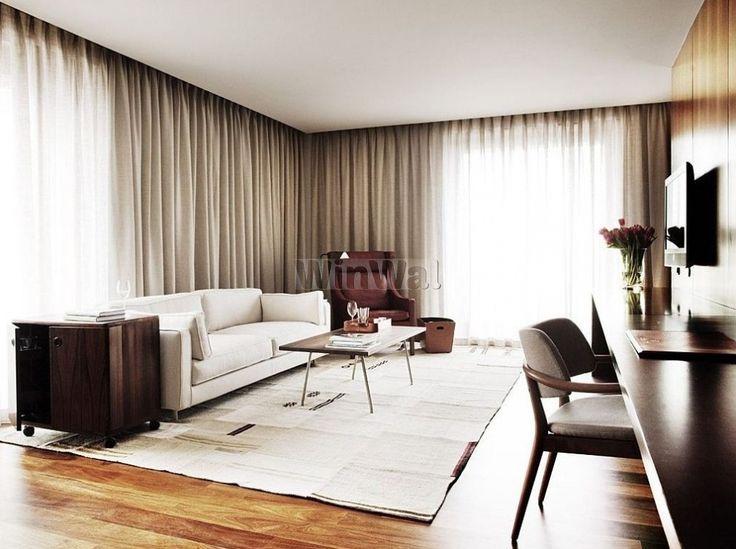 Серые шторы в интерьере гостиной, кухни, спальни, зала. Пошив и подбор штор к обоям серого цвета в Москве и Санкт-Петербурге