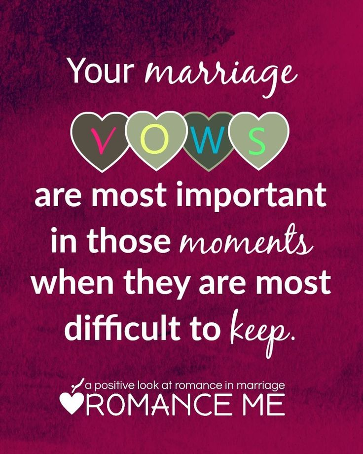 Your Marriage Vows Quote