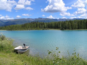 Dease lake  by Travis Albrecht -  Click on the image to enlarge.