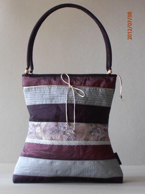 triped taffeta bag  www.artbag.hu