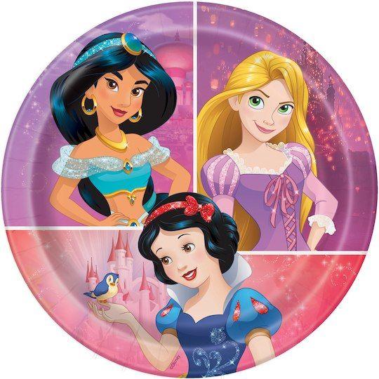 Disney Princess Cake Plates | Disney Princess Party Supplies
