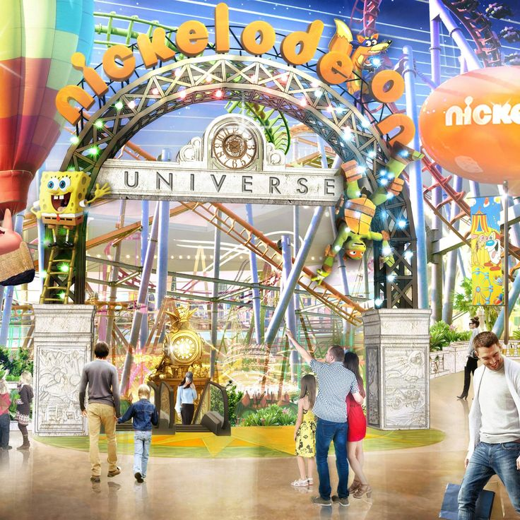 A GIGANTIC NICKELODEON THEME PARK IS COMING TO THE EAST COAST