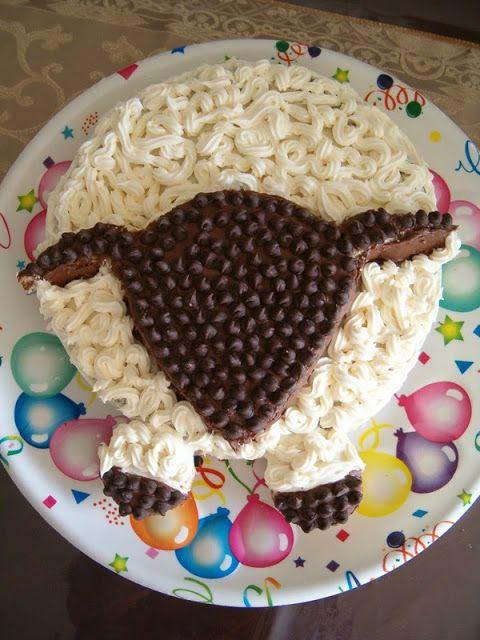 Eid-ul-Adha Sheep Cake