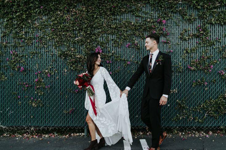 Green Wedding Shoes // Rue De Seine // Rue De Seine Classic // Zeppelin Gown #ruedeseine #zeppelingown #bohemainwedding #boho