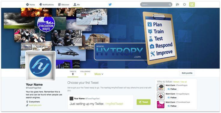 Hytropy Twitter Design - by TweetPages.com #TweetPages