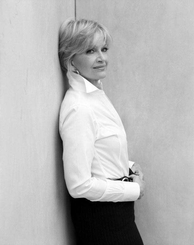 Diane Sawyer photographed by Christian Witkin