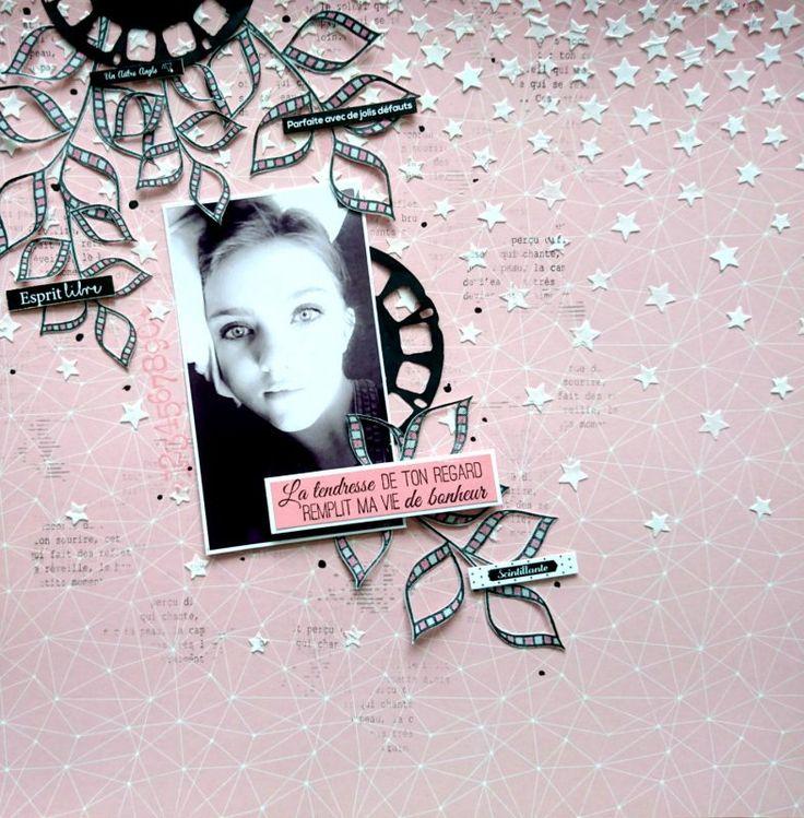 PAGE «LA TENDRESSE DE TON REGARD» par Michelle | Le Blog Scraposphère