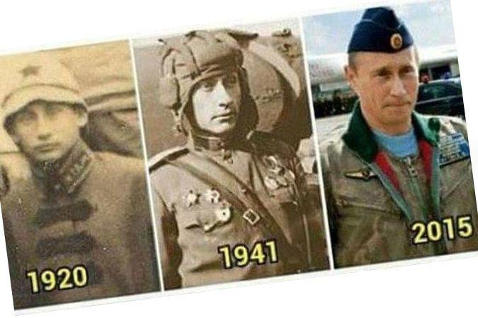 Путин жил, Путин жив, Путин будет жить! - Когда кто-то показывает пальцем на небо, только дурак смотрит на палец.