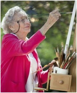 Teach yourself how to paint on canvas with oil paints. It's easier than you'd think with the help of these free demonstrations for beginners.