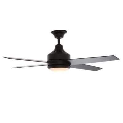 http://www.cadecga.com/category/Celling-Fan/ Hampton Bay Mercer 52 in. Matte Black Ceiling Fan-14923 - The Home Depot $169