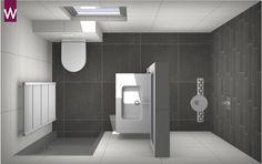 Het idee van veel mensen: een kleine badkamer met grote tegels. Dit is helemaal geen verkeerde gedachte. Grote tegels verminderen de hoeveelheid voegen in de badkamer. Hierdoor creëer je een strakke, rustige, ruimte. Grote tegels vergroten de badkamer dus optisch. Denk voor de vloertegels aan afmetingen van 60 x 60.[...]