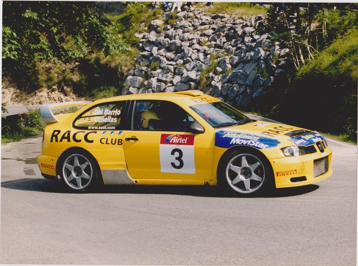 Salvador Cañellas Jr.- Seat Cordoba WRC
