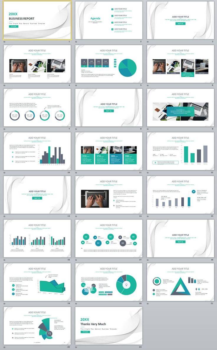 Best 25 powerpoint maker ideas on pinterest teacher stuff 23 blue creative business chart report powerpoint templates toneelgroepblik Images