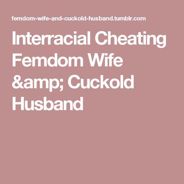 Interracial Cheating Femdom Wife & Cuckold Husband