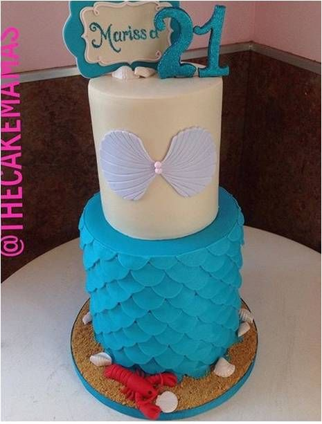 Cake Mamas Mermaid Cupcake