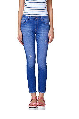 1c71d316bfaf40 edc by ESPRIT Damen Skinny Jeans 028CC1B011