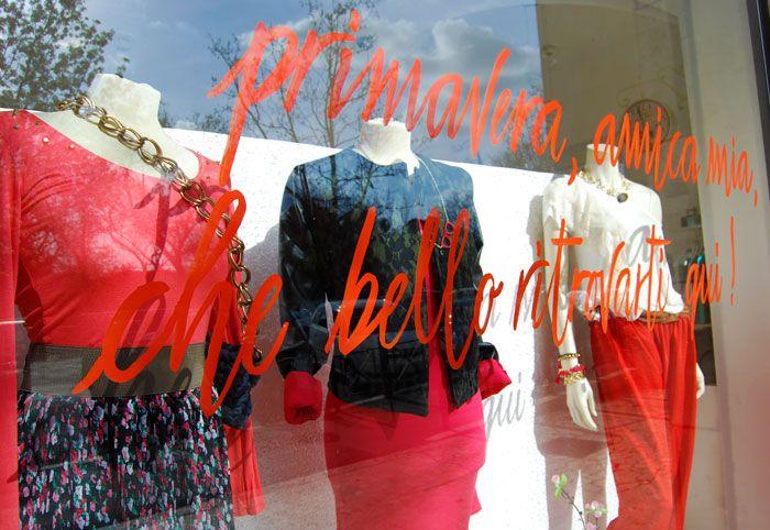 Calligraphy, copywriting & store windows | Shoptellers by Marika Salerno & Alessia Attanasio